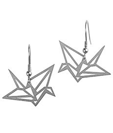 náušnice origami